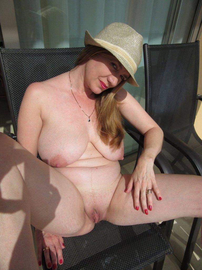 mature bikini tease